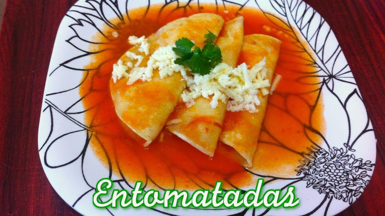 Ricas Entomatadas de Durango receta fcil rpida y econmica  La receta de la abuelita  YouTube