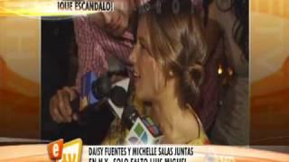 Daisy Fuentes  y Michelle Salas juntas en NY