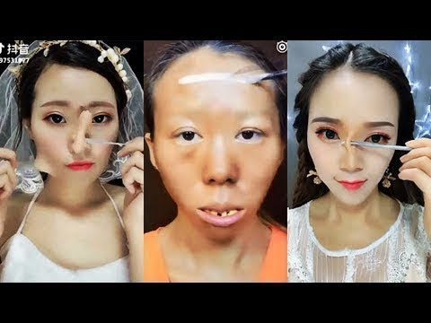 CRAZY Asian Makeup Transformations 😱 Chinese Makeup Tutorial Compilation 2018
