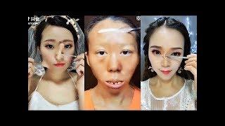 CRAZY Asian Makeup Transformations 😱 Chinese Makeup Tutorial Compilation 2018