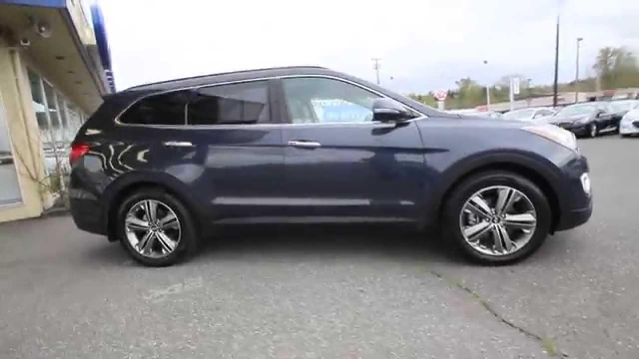 2014 Hyundai Santa Fe Limited Night Sky Pearl Eu052614