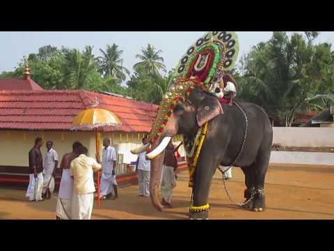 Kollam Tourism - Temple festival, Thadathavila Rajasekharan, Thrikkadavoor sivaraju