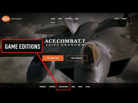 Ace Combat 7 Collector's Edition is on the way!