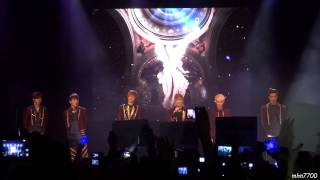 [HD fancam] 130209 Teen Top - 손등이 스친다 + Angel @ Trianon, Paris