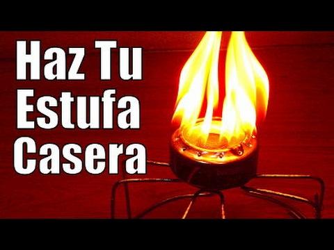 COCINAR SIN GAS Y SIN ELECTRICIDAD - MINI ESTUFA CASERA Cocina Ecológica Facil de Hacer