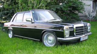 Repeat youtube video Mercedes Benz W115 slideshow.wmv