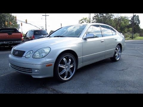 2001 Lexus GS300 Start Up, Engine, and In Depth Tour - YouTube