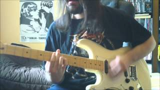 Slayer -  Hell Awaits - guitar cover - Full HD