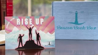 Unboxing January 2021 Beacon Book Box, Theme: Rise Up