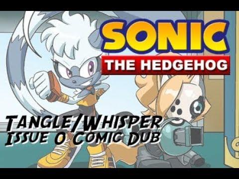 Sonic The Hedgehog Tangle Whisper Issue 0 Comic Dub Youtube