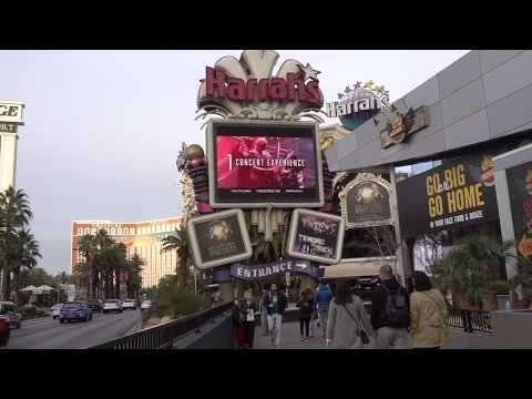 Walking the Las Vegas Strip 2018