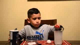 Jacob's 2nd Grade Science Experiment