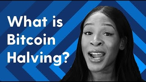 What is the Bitcoin Halving?