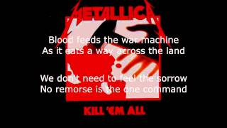 Watch Metallica No Remorse video