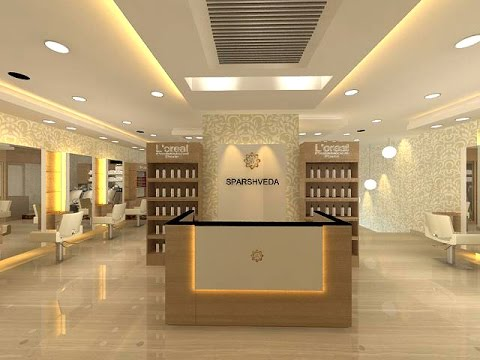 Beauty Salon & Spa Interior design - Sparshveda - Indirapura