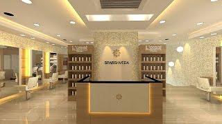 Beauty Salon & Spa Interior design - Sparshveda - Indirapuram - Ghaziabad - INDIA