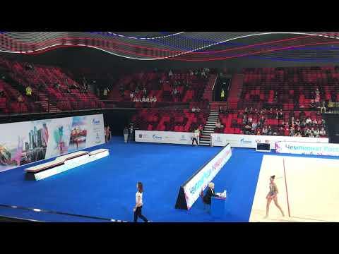 Чемпионат России 2019, Арисова Алина, лента