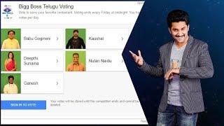 Bigg Boss Telugu Vote season 2: Second week - Deepthi, Babu, Kaushal, Nutan, Ganesh