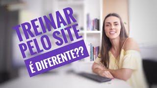 Qual diferença entre treinar pelo YouTube ou pelo Site www.exercicioemcasa.com.br?
