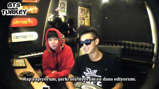 14.05.2013 Rap Monster  JungKook Log (Türkçe Altyazılı)