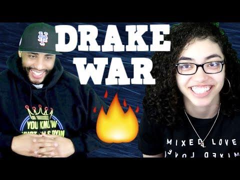 MY DAD REACTS TO Drake - War REACTION