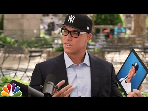 Aaron Judge Asks Yankees Fans About Aaron Judge
