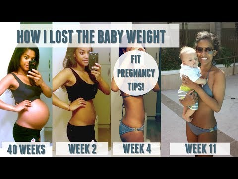 How To Lose Baby Weight After Pregnancy | Fit Pregnancy Tips!