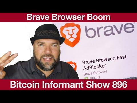 #896 Bitcoin Dip Miner Kapitulation,Brave Browser verdoppelt Nutzer & Bitcoin ATM Regulierung