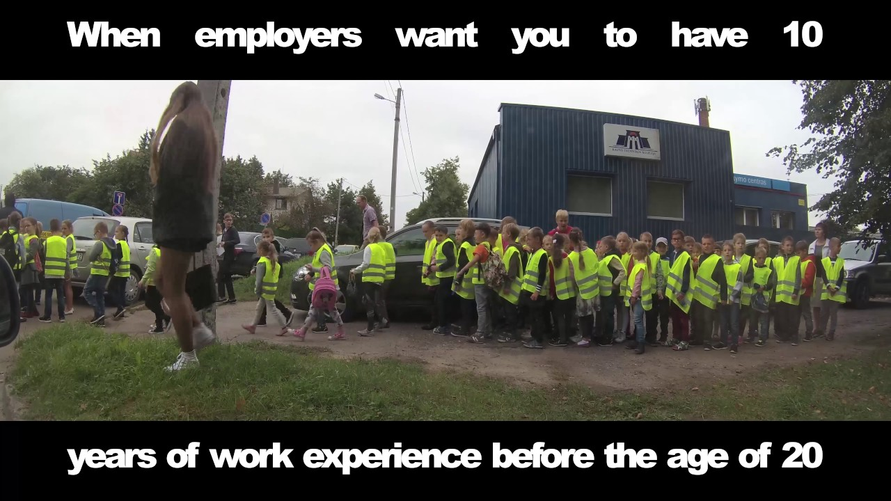 when employers want you to have 10 years of work experience before the age of 20