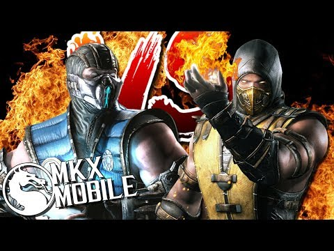 САБ-ЗИРО ВЕЛИКИЙ МАСТЕР VS СКОРПИОН ИНФЕРНО • Mortal Kombat X Mobile