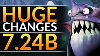 PATCH 7.24b: EVERYTHING IS NERFED: Here's What's STILL BROKEN | Dota 2 Gameplay Guide