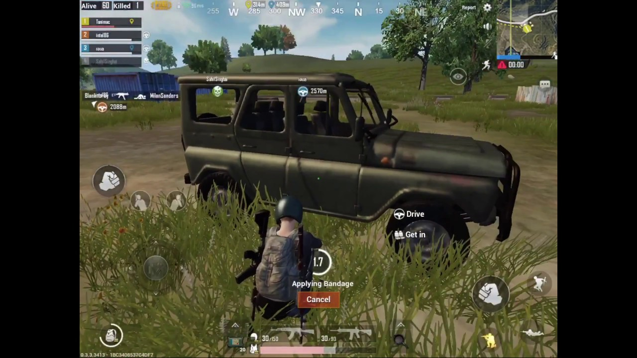 Official Pubg Mobile Gameplay: Gameplay IOS/IPad Air 2