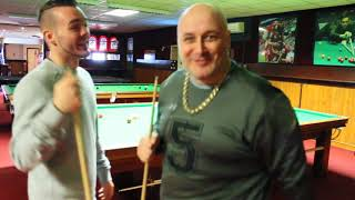 British Champion Josh Wale plays pool and catches-up with Porky Russ