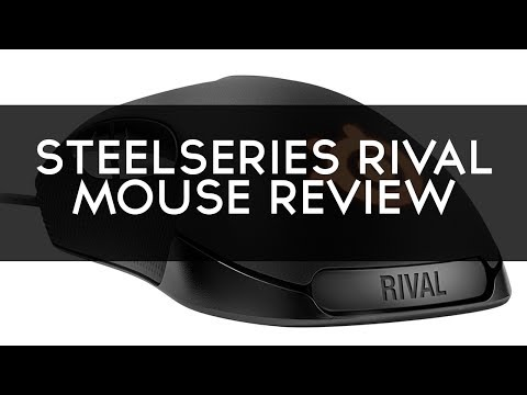 SteelSeries Rival Optical Gaming Mouse Review