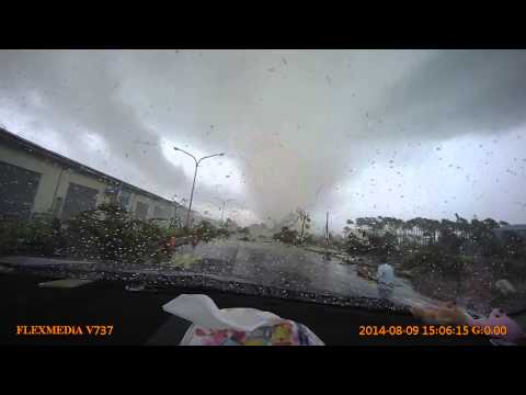 Typhoon Tornado *GRAPHIC CONTENT ALERT*