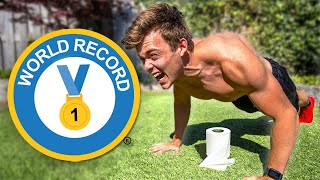 Someone broke my world record, again | My Response (Most Push ups In 30 Seconds)