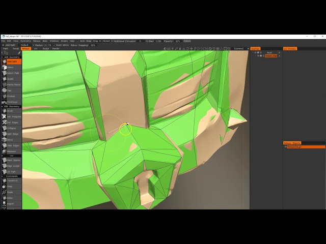 Retopology in 3DCoat Part 02