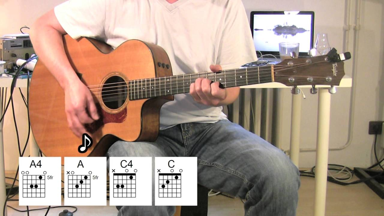 Born To Run Acoustic Guitar Chords Bruce Springsteen Youtube