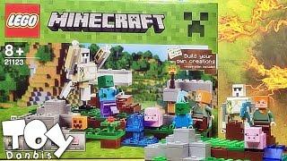 레고 21123 조립 리뷰-마인크래프트 아이언 골렘 리뷰 LEGO Minecraft The Iron Golem