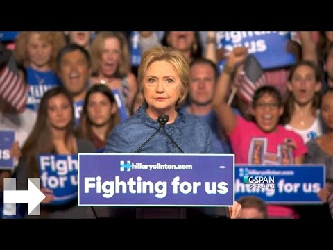 Hillary Clinton speaks about Donald Trump in her March 15 victory speech | Hillary Clinton