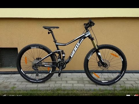 eb45504aabe Giant Trance 27.5 4 2 2016 weight - YouTube