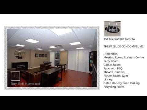 ★★★ Prelude Condos at 151 Beecroft Rd - Buy Rent Condo in North York (Beecroft and North York Blvd)
