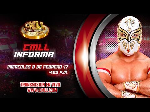 CMLL INFORMA 8 DE FEBRERO DEL 2017