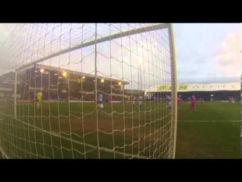 Mark Oxley's Last Minute Save v Gillingham