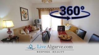 360º Video Tour - T2 Apartment in Private Condominium, Portimão