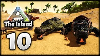TAMING SARCOS! NOT SO ALPHA RAPTOR! | Let's Play ARK Survival Evolved: The Island | Episode 10