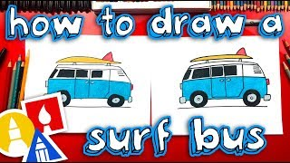 how to draw a summer surf bus replay live stream
