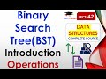 Binary Search Tree in (Hindi, English) with Example