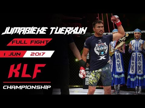 Kickboxing:  Jumabieke Tuerxun Vs. Alison Santos FULL FIGHT-2017