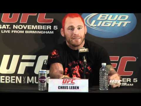 UFC 138: Pre-Fight Press Conference